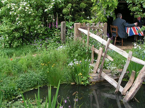 The Ecover Cheslea Pensioner's Garden