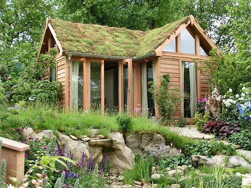 Wildlife Trusts LUSH Garden: Garden Building