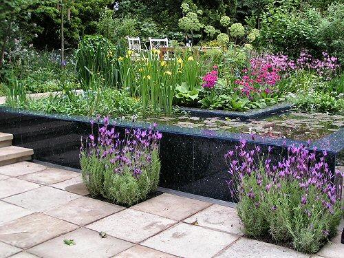 The RSPB/SITA Real Rubbish Garden: Formal Wildlife Pond