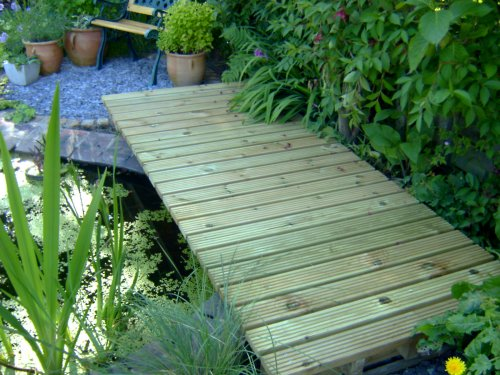 The finished deck